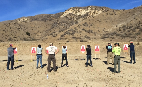 beginner handgun course