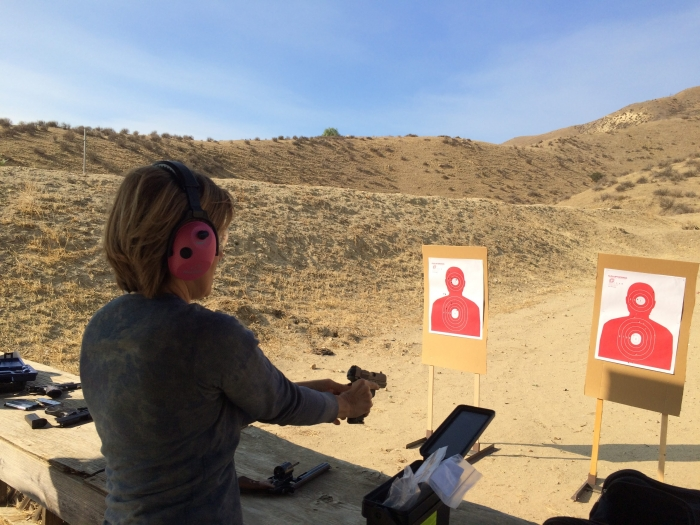 women only beginner handgun course