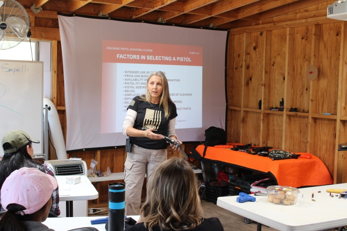 beginner handgun course for women