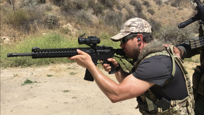 Short Range Rifle course