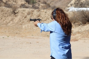 women only beginner pistol course