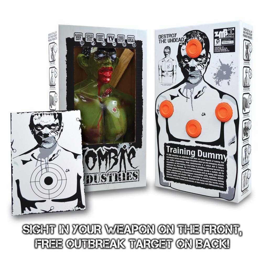 Rocky Zombie Target