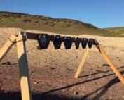 Steel Target Rack