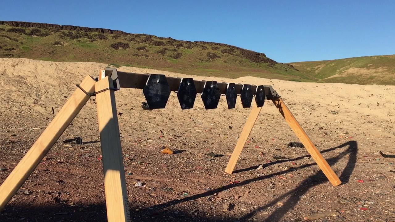 Steel Challenge Plate Rack- Steel Targets