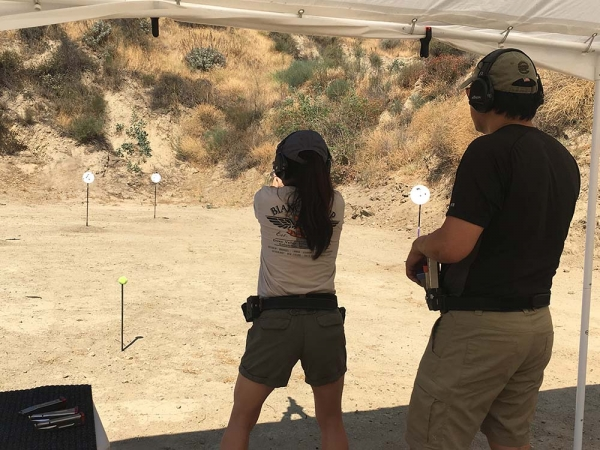 private shooting training